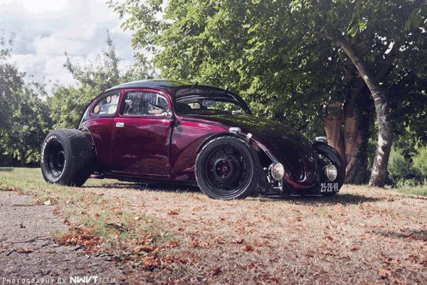 Side View of Keven Salt's SoCal VW Bug.