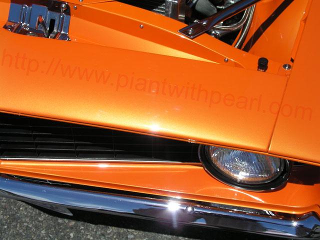 Bright Orange Kandy Pearl Kustompearls