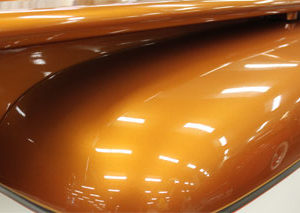 Orange Copper kandy Pearl - Metallic Bronze Pigment
