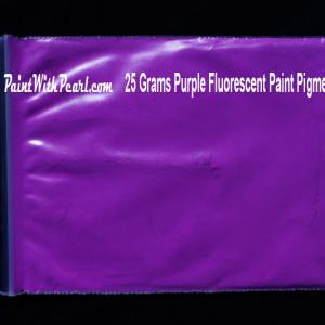 Purple Neon Glow Paint Pigment