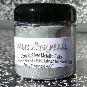 Silver Metal Flake - Silver Flake Paint Jobs