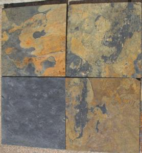 Ordinary Slate Tiles from Home Depot - Untreated.