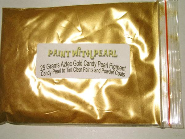 25 gram bag of Aztec Gold kandy Pearl