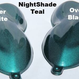 Teal kandy Paint Pearl Night Shade