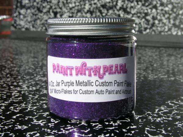 Purple Metal Flake - KustomPearls