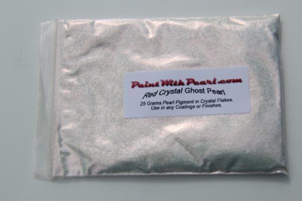 25 gram bag of Red Crystal Ghost Pearl