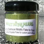 Chartreuse Metal Flake