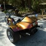 kustom Chameleon Trike Paint Job on a Trike with our 4739OR.