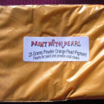 25 Gram Bag of Bright Orange Kolor Pearls