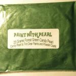 25 Gram Bag of Forest Green Kolor Pearls ®.