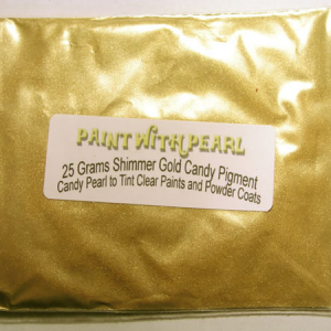 25 gram bag of Shimmer Gold kandy Pearl