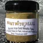 Inca Gold Metal Flake