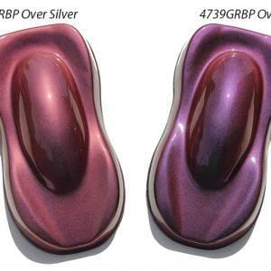 Gold Red Blue Purple Kolorshift Pearls 4739GRBP