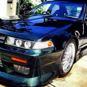 Nissan Cefiro with our Gold Green Blue Kolorshift Pearls s.