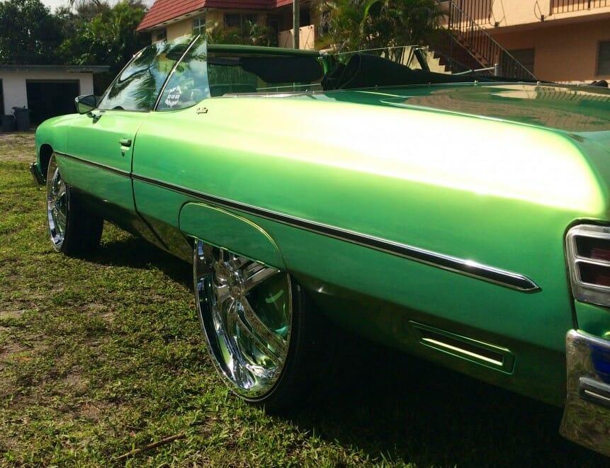 Green Gold Flip Paint Kolorshift Pearls