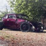 Side View of Keven Salt's SoCal VW Bug.