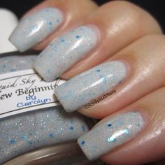kustom made nail polish using our kandy pigments and metal flakes