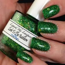 kustom mixed nail polish using our pigments and metal flakes