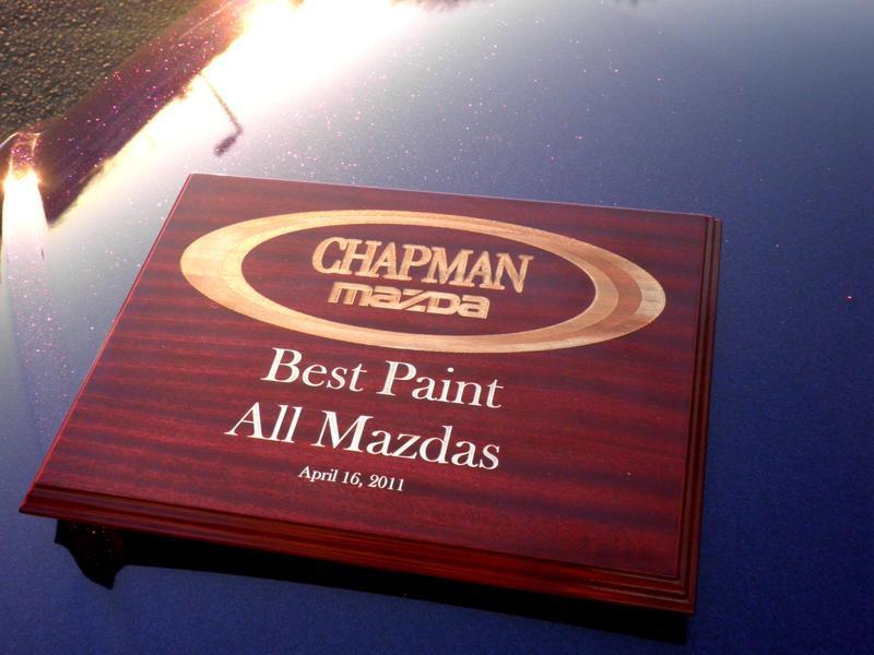 1st place award for purple metal flake paint job.