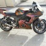 Gold Orange Red 4739OR Kolorshift Pearls  motorcycle 2