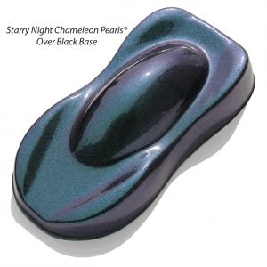 Starry Night Teal Blue Purple Kolorshift Pearls 4739TBP