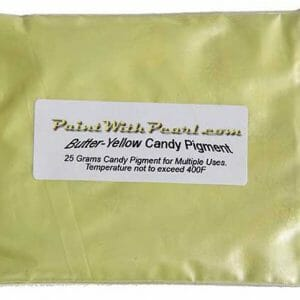 25 Gram Bag Butter Yellow kandy Paint Pearl.