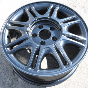 You can use any of our pearls to restore wheels, but to get a factory look, Silver Ghost over Black is the way to go.
