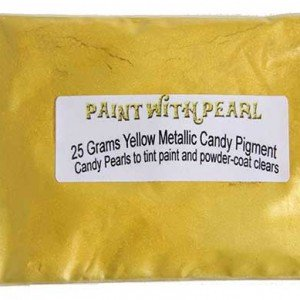 Yellow Metallic Paint Kolor Pearls